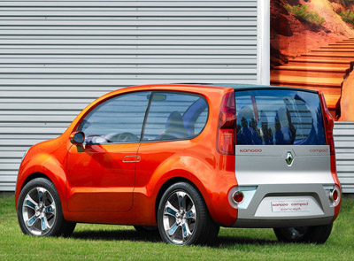 Renault Kangoo BeBop rear