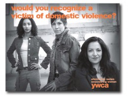 Don't Be a Victim! Contact the YWCA for Help