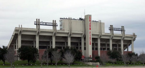 Cajun Field of the University of Louisiana at Lafayette