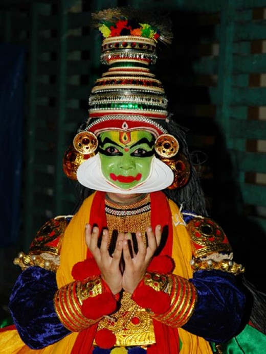 Kathakali - an art form of kerala