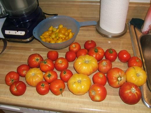Start with garden-fresh tomatoes