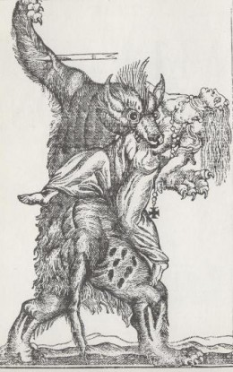 18th Century Werewolf Engraving
