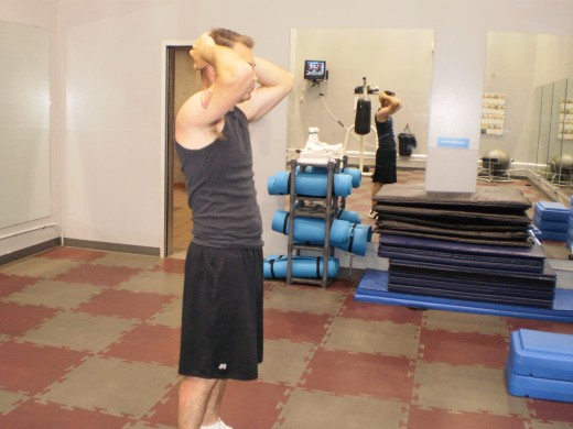 The Lunge starting position
