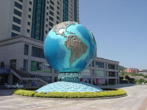 Statue of globe