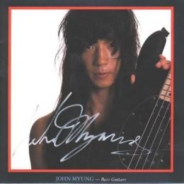 John Myung with Musicman Stingray