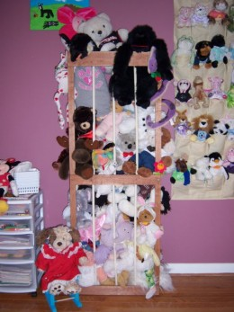 See what I use to keep all those Stuffed Animals neatly Organized