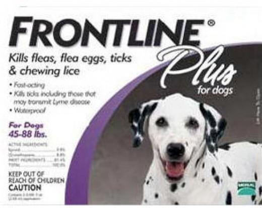 Frontline Plus Flea and Tick Control