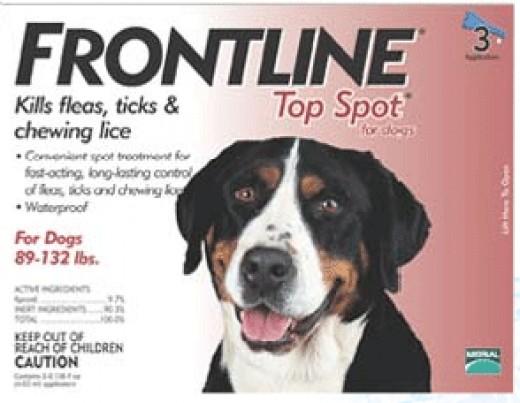 Frontline Top Spot Flea and Tick Control