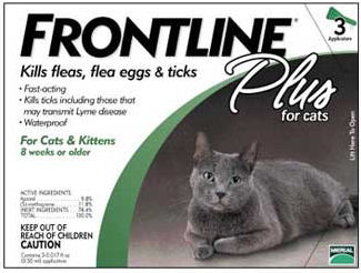 Frontline Flea and Tick control for Cats