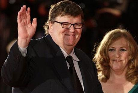 Documentary Film Maker Michael Moore