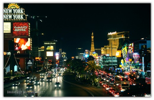 Beautiful view of the Vegas Strip!