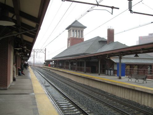Broad Street train station.