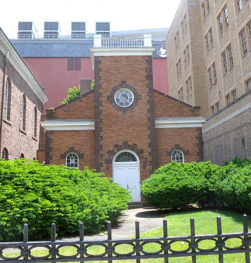 Broad Street: Old First Presbyterian Church