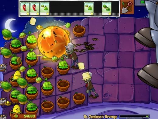Plants vs zombies zomboss strategy part iv