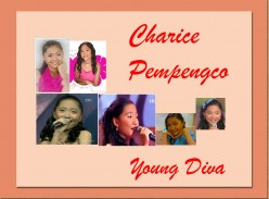 Young Filipina Singer - Charice Pempengco