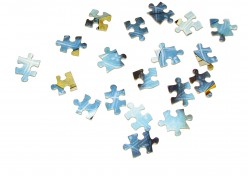 Everyone likes doing puzzles, so create a beautiful collage and make it print at your favourite local online photo service.