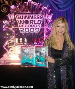 Guinness World Records 2009 launch party, London,