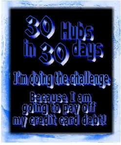 I am doing the 30 hubs in 30 days challenge