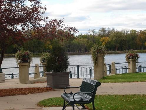 River Park at the Mississippi