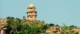 Victory  Tower/'Jaya-stambha' of Cittorgarh beacons you.