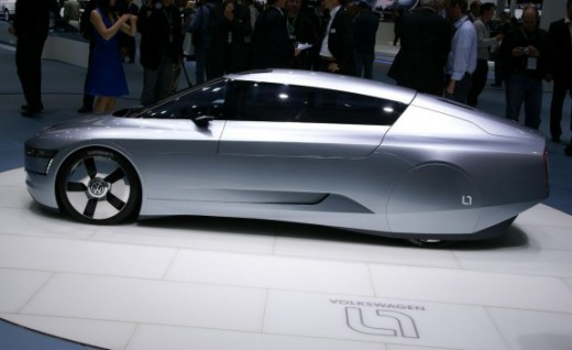 Volkswagon L1 Concept Hybrid Vehicle