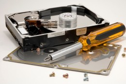You don't need to take your computer apart to do hard drive data recovery.