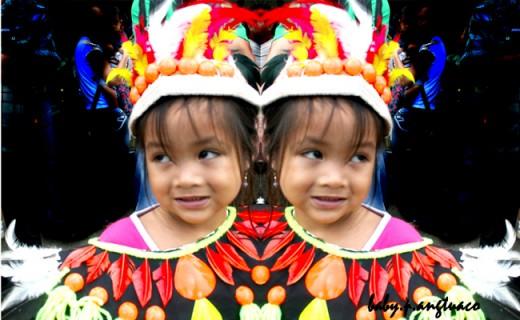 mirror-image created through photoshop