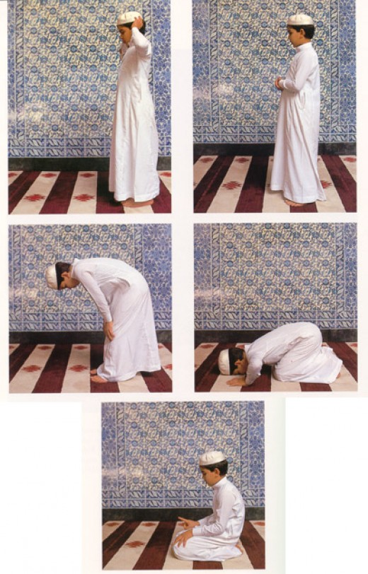 how to pray islam