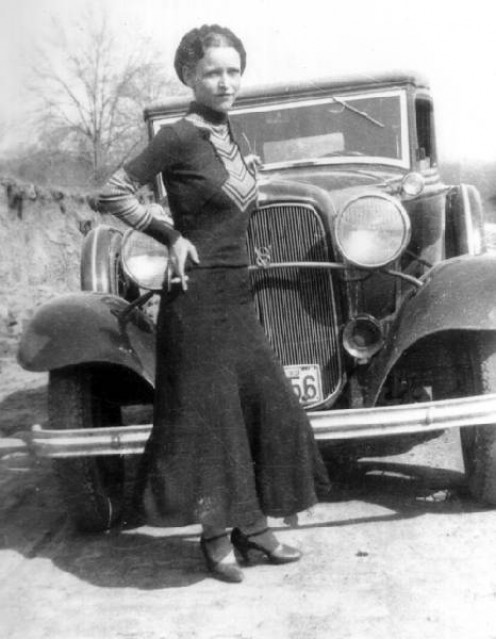 Bonnie Parker would be angry, too!