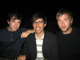 A trio of handsome men.