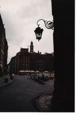 Warsaw's rebuilt Stare Miasto.