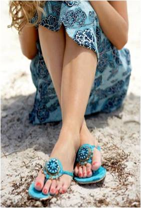 There is no sense in making your toes look pretty if people run away when you remove your shoes.