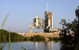 There are only six Space Shuttle launches left.