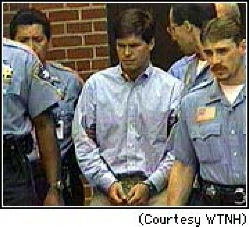 Alex Kelly of Darien, Conn.. on the day of his conviction on rape charges, June 12, 1997.