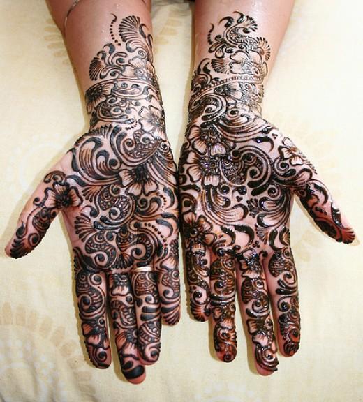 Best Arabic Mehndi Designs For