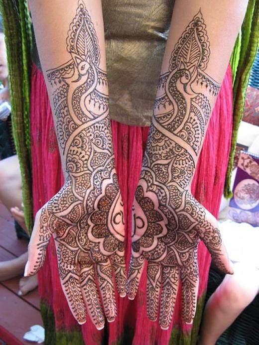 Rajasthani mehndi designs for
