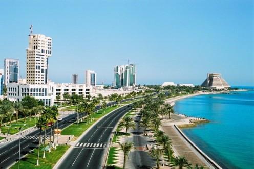 The progressive city of Doha, Qatar