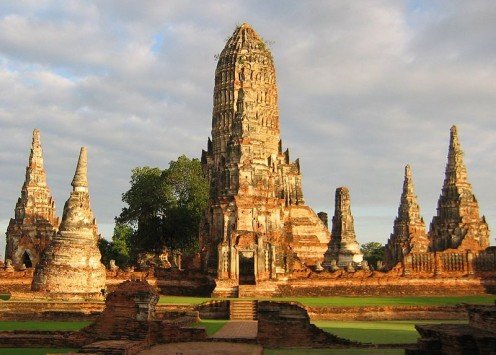 Wat Chaiwatthanaram, Thailand