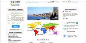 Agoda.com Website