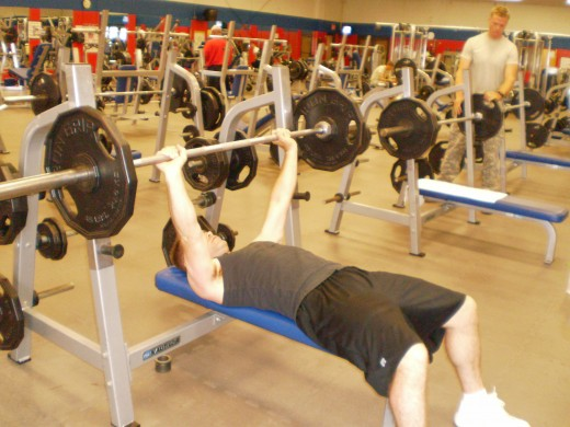 The Flat Bench starting position