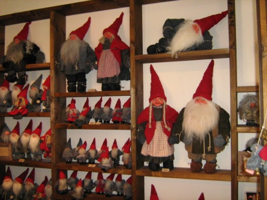 "In Sweden, many believe in the existence of trolls, which are known there as ""tomtars."""