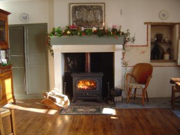 We use the stove to cook stews and steamed puddings in the winter.