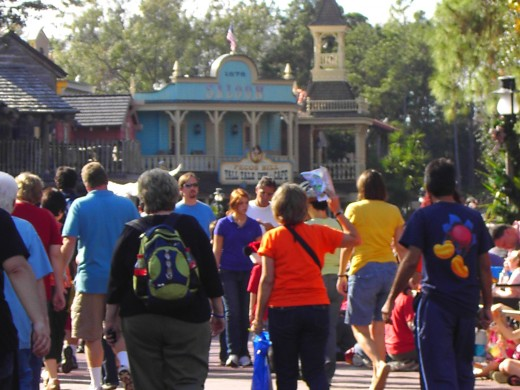 Frontierland at the Magic Kingdom (photo by talfonso)