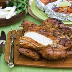 Grilled Roasted Yard Bird