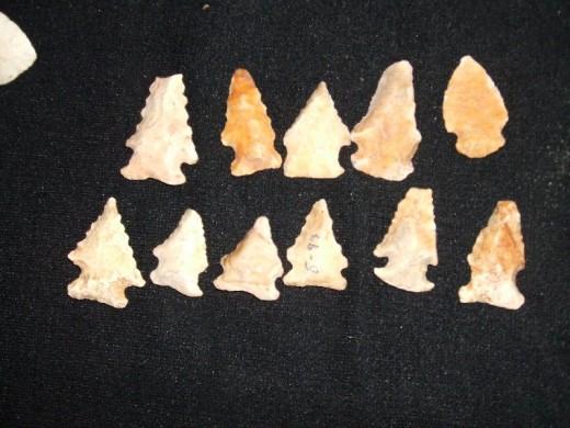 More arrowheads