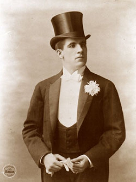 "James J. Corbett, AKA ""Gentleman Jim,"" one of history's great boxers, was known for his manners and fashion sense."