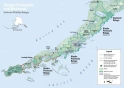 Location of the Juan Valdez oil spill (public domain)