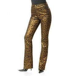 DG2 Luxe Animal Print Boot-Cut Jeans Clearance   Price: $10.00HSN Price: $69.90 | You Save: $59.90Retail Value: $118.00