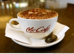 McDonald's joins Starbucks in the race to become a global coffee leader