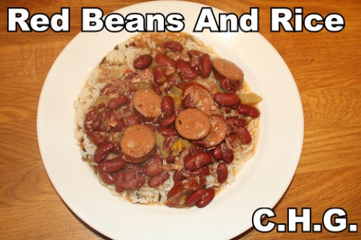One of the traditional delicious dishes served in New Orleans is Red Beans And Rice.